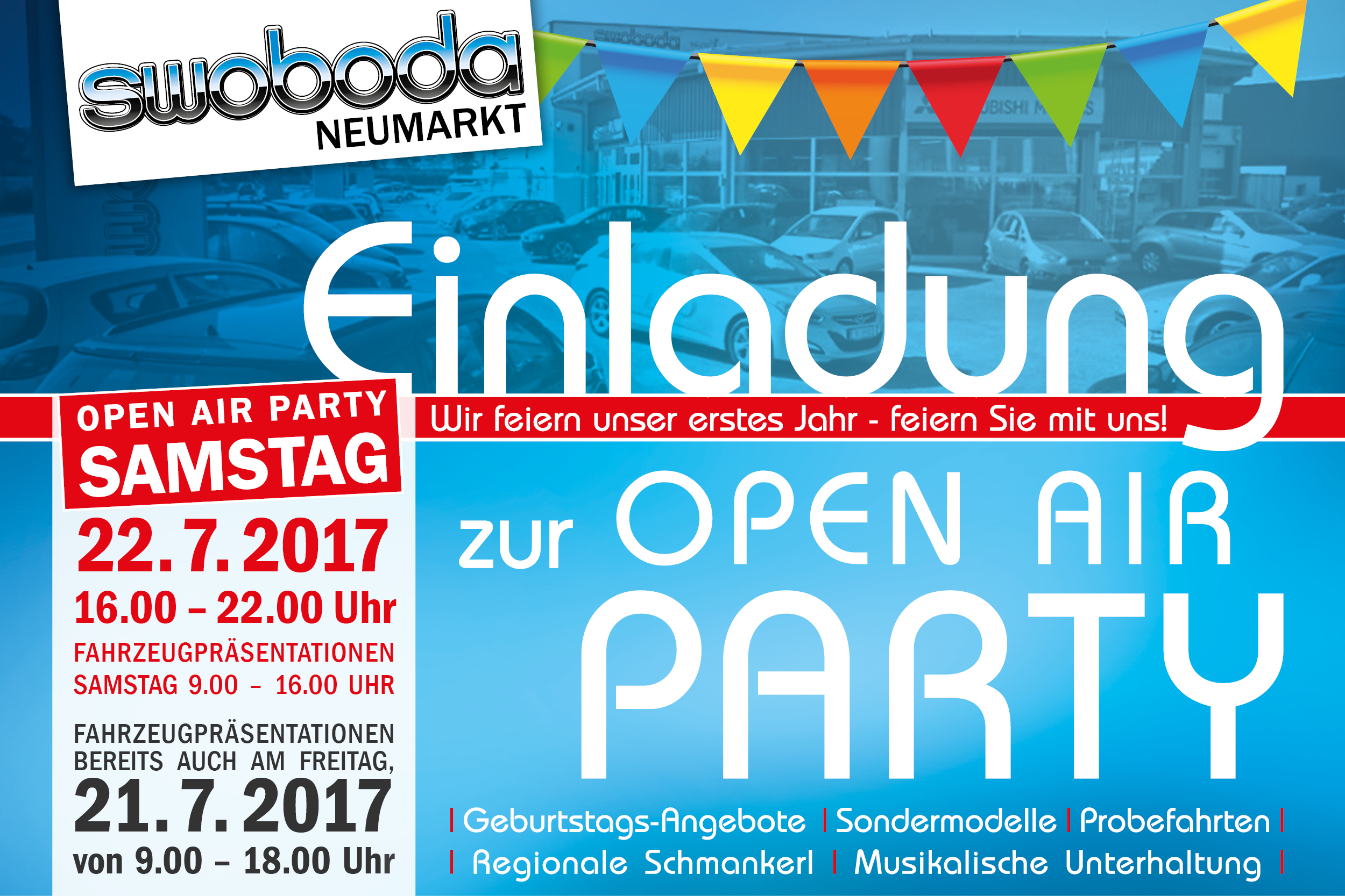 Swoboda OPEN AIR PARTY