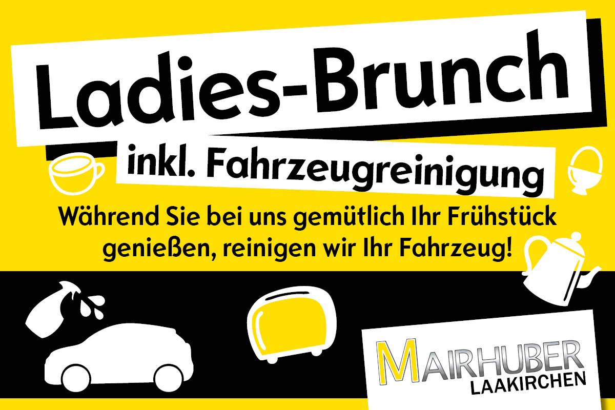 Mairhuber: 8. März 2019 - Ladies-Brunch