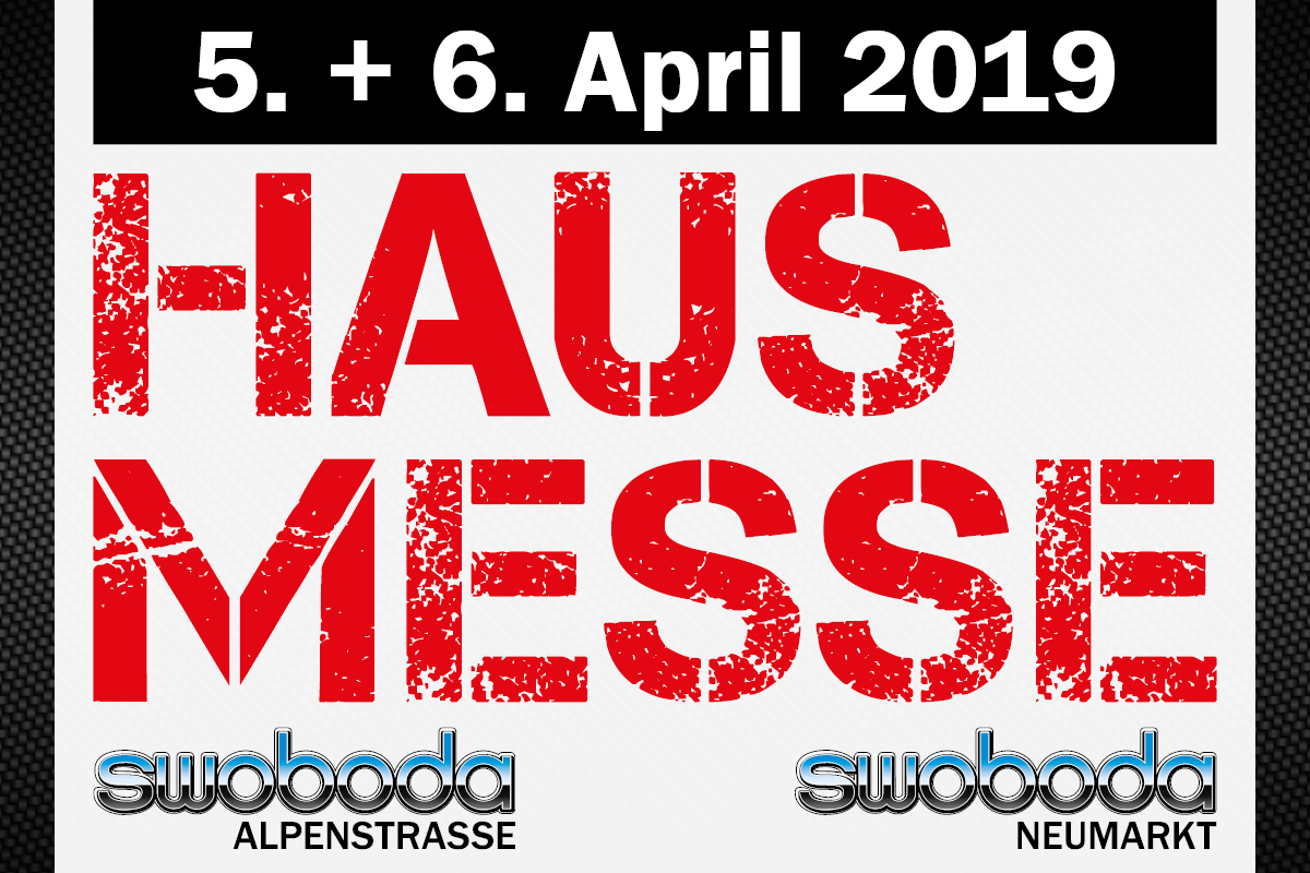 Hausmesse am 5.+ 6. April bei Swoboda Neumakrt & Alpenstrasse!
